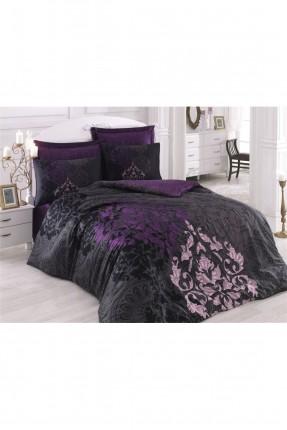 طقم غطاء سرير مزدوج ساتان فاخر