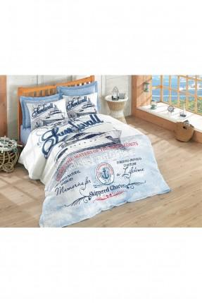 طقم غطاء سرير مزدوج رسومات / 3 قطع /
