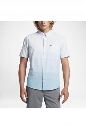 قميص رجالي نايكي مموج - ازرق