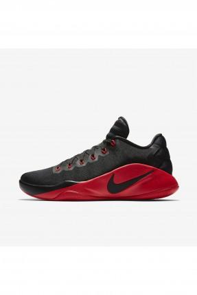 بوط رجالي Nike كرة السلة - اسود واحمر