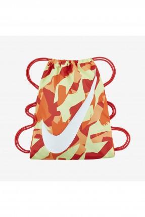 حقيبة اطفال NIKE منقوشة - برتقالي