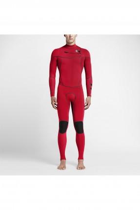 طقم ازياء سباحة رجالي nike - احمر