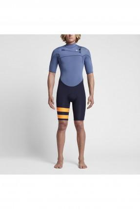 طقم سباحة شورت رجالي nike - ازرق