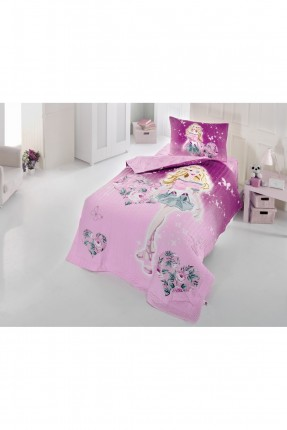 طقم غطاء سرير بنات / 3 قطع / بطانية 180 * 230