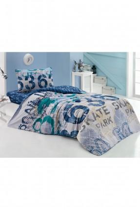 طقم غطاء سرير اطفال مع رسومات