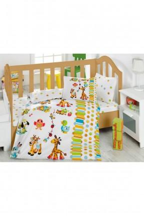 طقم غطاء سرير بيبي رسومات