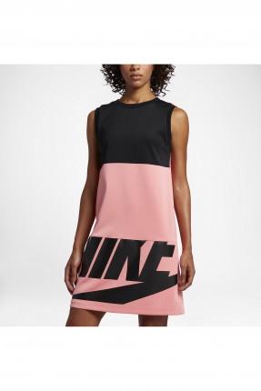 فستان نسائي تنس - وردي