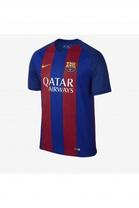تيشرت نادي برشلونة رجالي  - ازرق واحمر