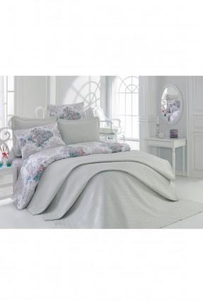 طقم غطاءسرير مفرد / قطعتين / اخضر