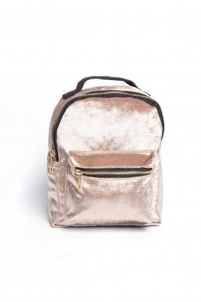 حقيبة ظهر نسائية - زهري