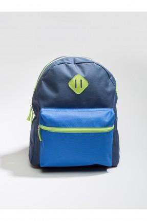 حقيبة مدرسة اطفال ولادي - ازرق