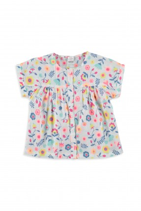 قميص اطفال بناتي منقوش