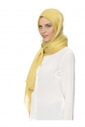 حجاب تركي - اصفر