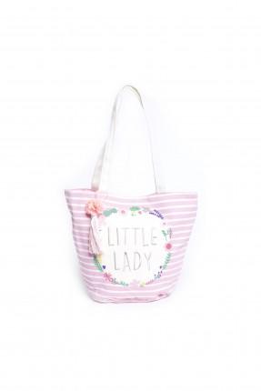 حقيبة اطفال بناتي - زهري