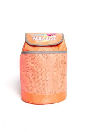 حقيبة ظهر سبور بناتي - برتقالي