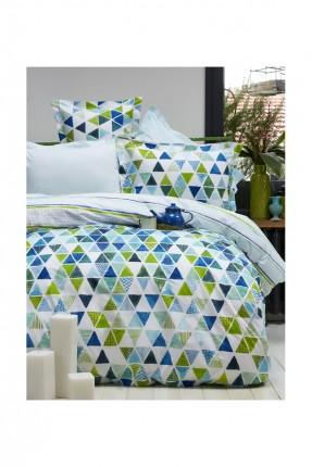 طقم غطاء لحاف مثلثات / 3 قطع / سرير مفرد