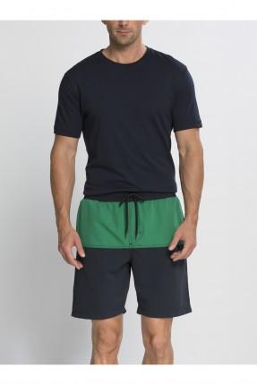 شورت سباحة رجالي - اخضر