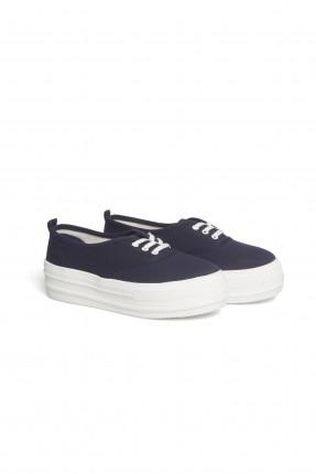 حذاء رياضي نسائي - ازرق داكن