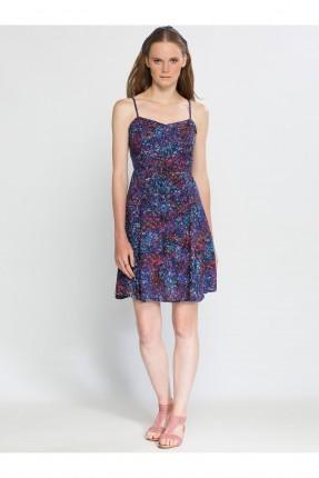 فستان نسائي شيال - نيلي