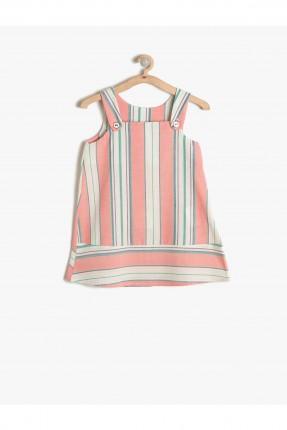 فستان بيبي بناتي - وردي