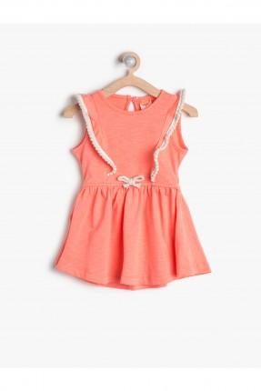 فستان اطفال بناتي مع كشكشة