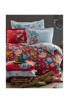 بطانية سرير مزدوج احمر / 220 * 240 /