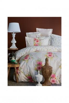 بطانية سرير مزدوج رسومات ورد / 200 * 240 /