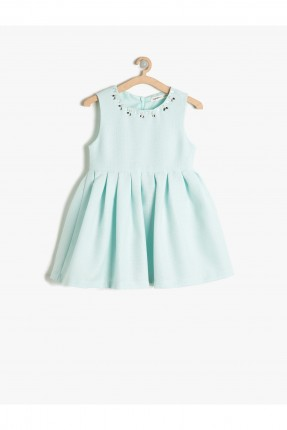 فستان اطفال بناتي مزموم