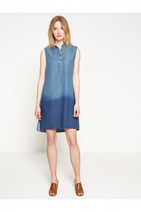 فستان نسائي جينز - ازرق