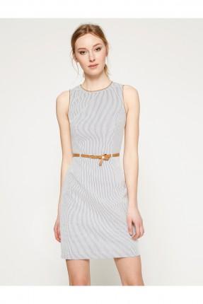 فستان نسائي مع حزام