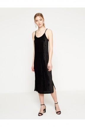 فستان نسائي شيال - اسود