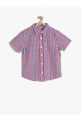 قميص اطفال ولادي كارويات - احمر