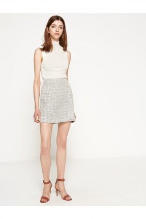 تنورة قصيرة ضيقة مونسة - ازرق