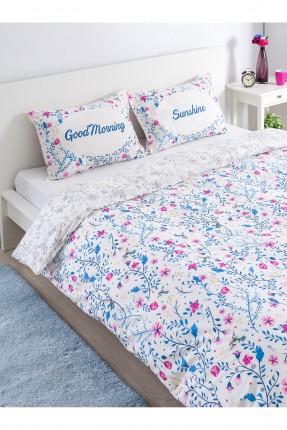 طقم غطاء لحاف سرير مزدوج / قطعتين /