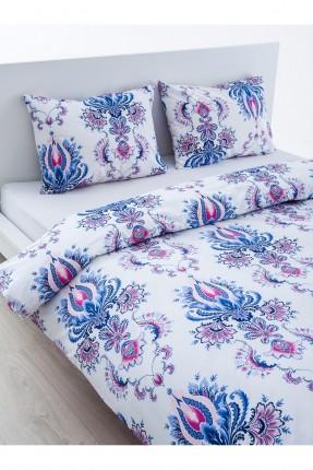طقم غطاء لحاف قطني / قطعتين / سرير مزدوج