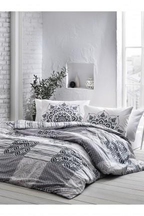 طقم غطاء لحاف سرير مزدوج قطني