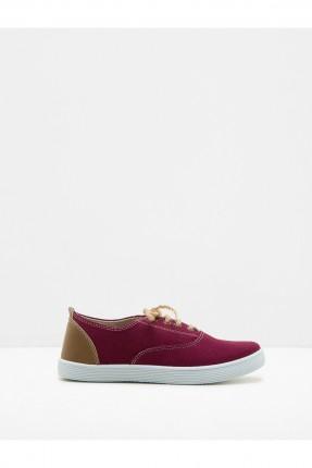 حذاء اطفال ولادي - خمري