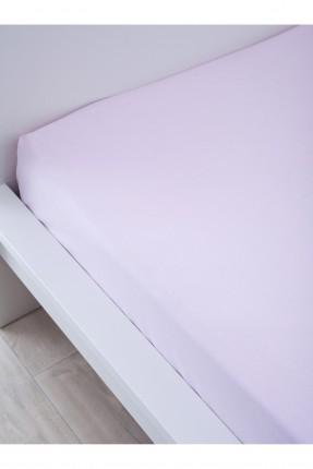 شرشف سرير مزدوج قطني / 240*260 / وردي