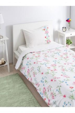طقم غطاء لحاف رسومات سرير مفرد / قطعتين /