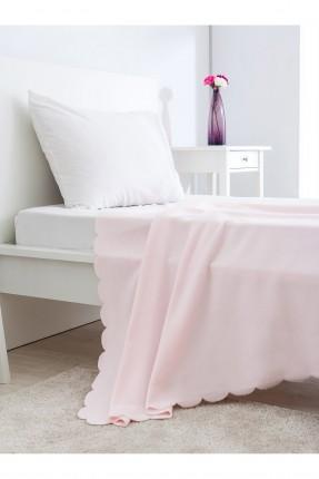 بطانية سرير مفرد /130 * 170 / وردي