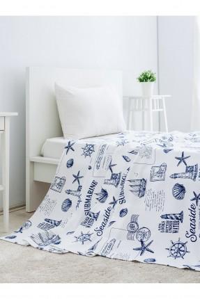 غطاء سرير مفرد رسومات /160 * 230 / ازرق