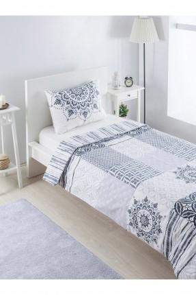 طقم غطاء لحاف قطني سرير مفرد