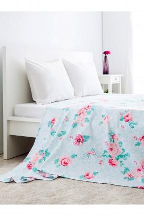 غطاء سرير مزدوج رسومات ورد /220 * 240 /