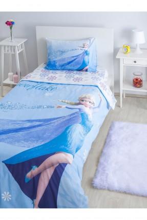 طقم غطاء سرير بنات - ازرق