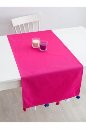 غطاء طاولة / 50 * 150 / فوشي