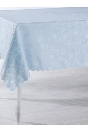 غطاء طاولة مزخرف / 150 * 200 / تركواز