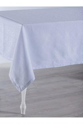 غطاء طاولة منقوش / 150 * 220 / تركواز