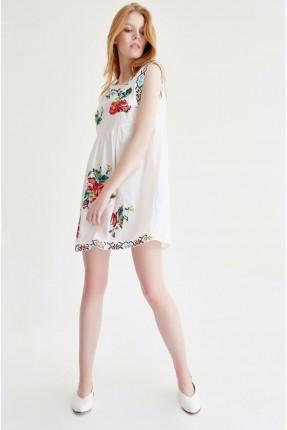 فستان - ابيض