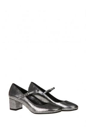حذاء نسائي - فضي