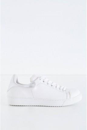 حذاء رياضة نسائي - ابيض